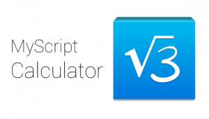 Myscript-calculator